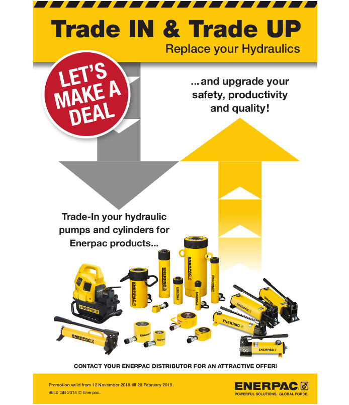 Trade in trade up ENERPAC